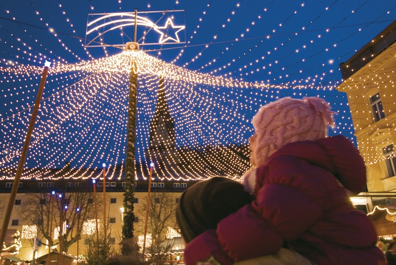 Bild: Weihnachtsmarkt in Brüneck