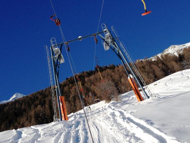 Skilift-Skigebiet Sand in Taufers