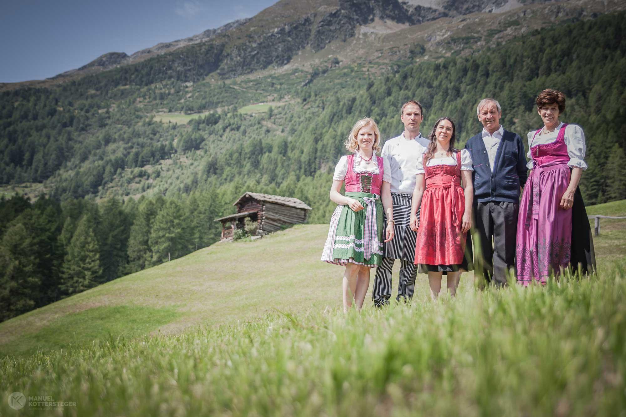 Familie Steinkasserer Rein in Taufers