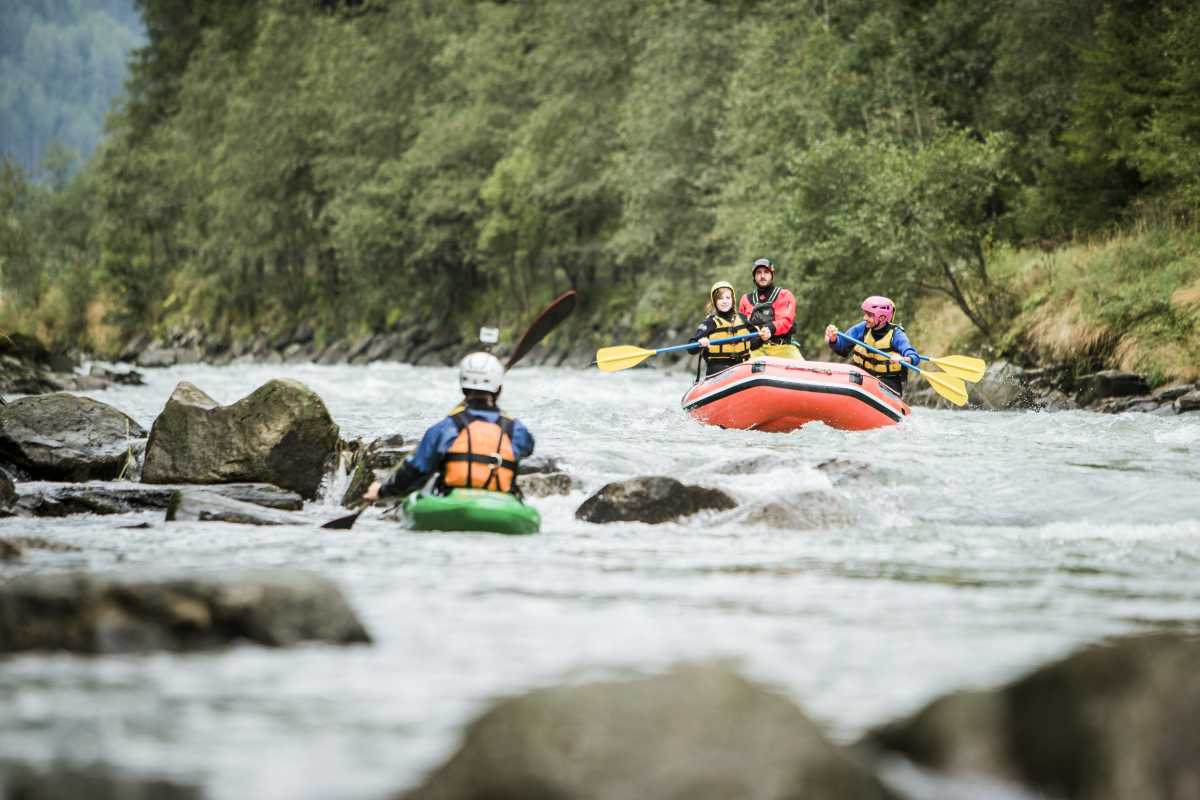 Rafting Canyoning Ahrntal