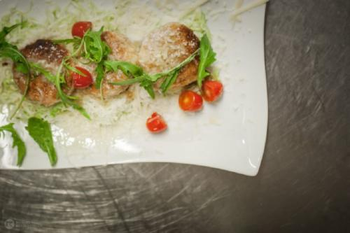 Almkäseknödel mit Krautsalat - Rein in Taufers - Restaurant Florian